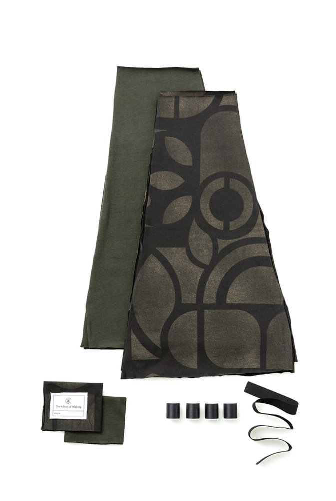 The school of making abstract swing skirt diy kit 3
