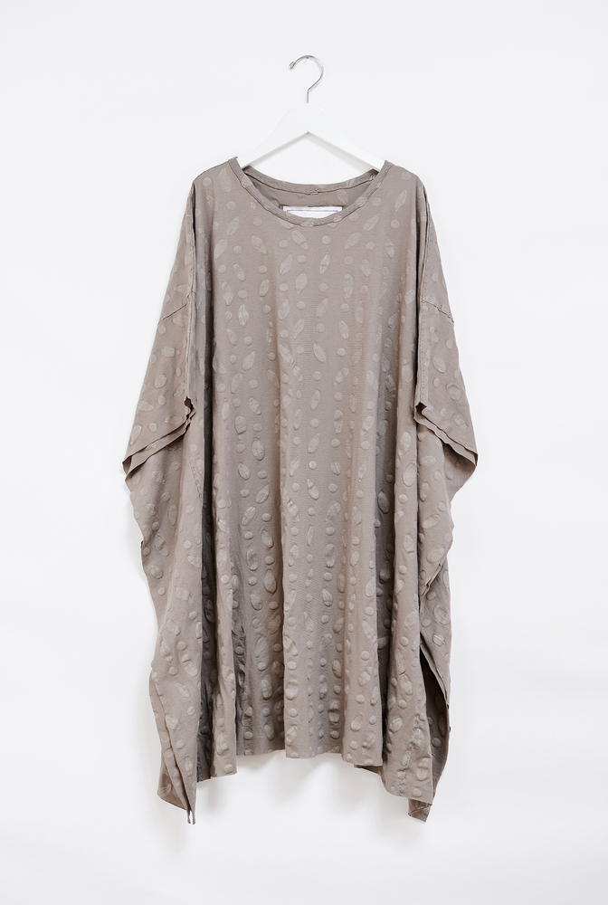 Alabama chanin flowy caftan tunic 5