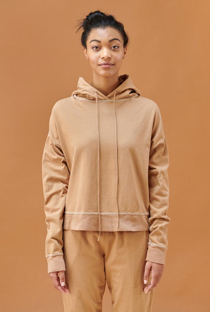 Alabama chanin cozy hoodie jacket 4