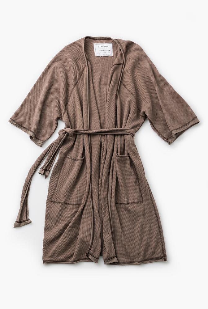 Alabama chanin organic cotton waffle bath robe6