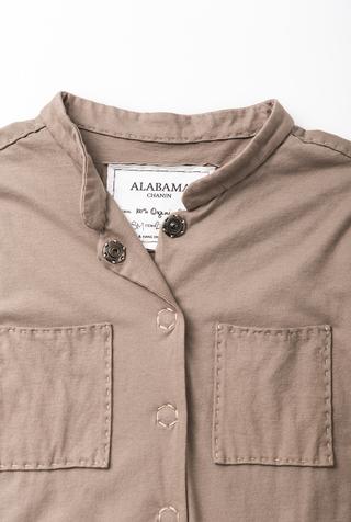 Alabama chanin cotton mid length coat 2