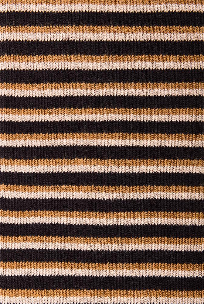 Alabama chanin organic cotton shortie stripe socks 3