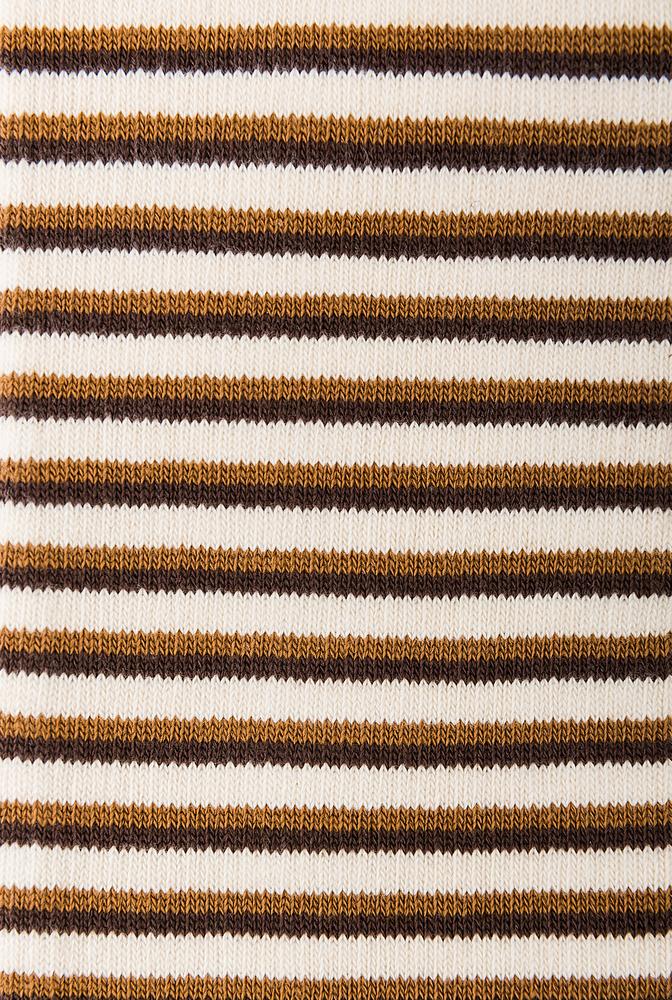 Alabama chanin organic cotton tall stripe socks 3