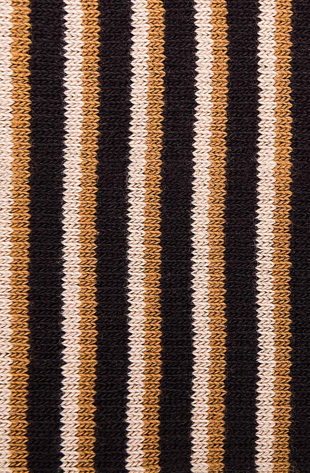 Alabama chanin organic cotton tall stripe socks 2