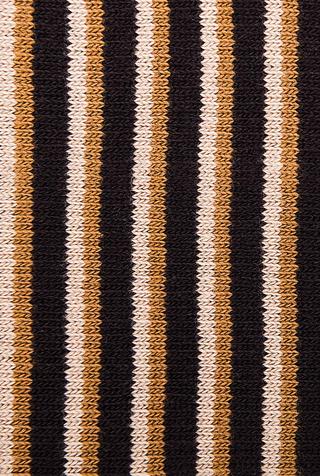 Organic Stripe Tall Socks