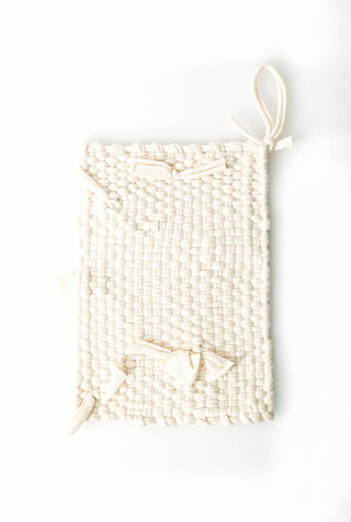 Hand–Loomed Potholder
