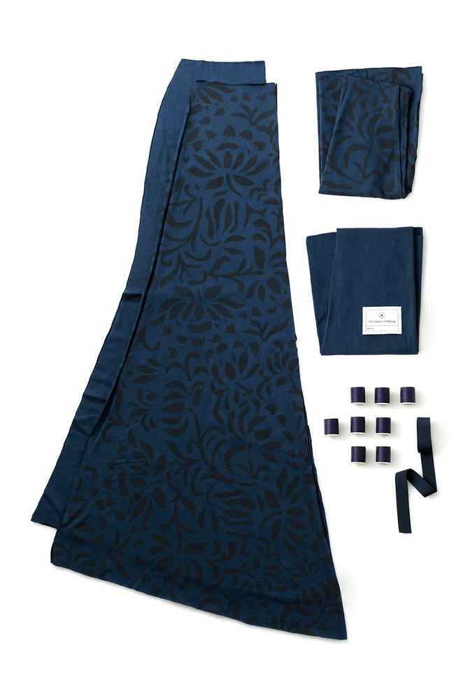 The school of making annas garden long skirt diy kit 1