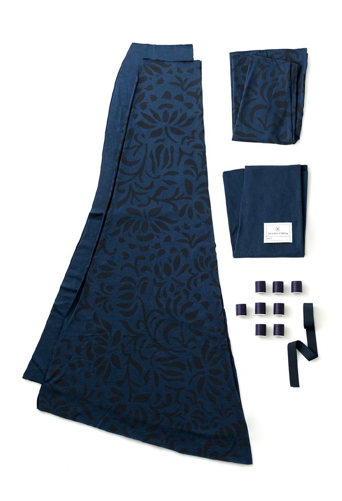 The school of making annas garden long skirt diy kit 1