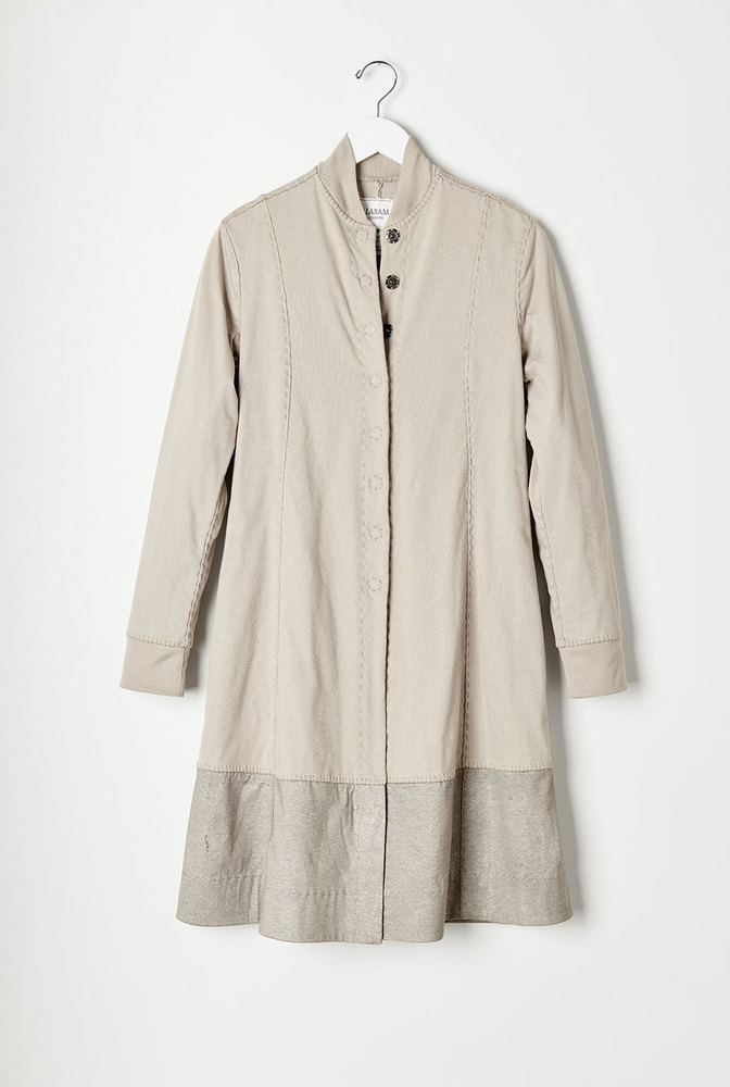 Alabama chanin natalies panel coat 1