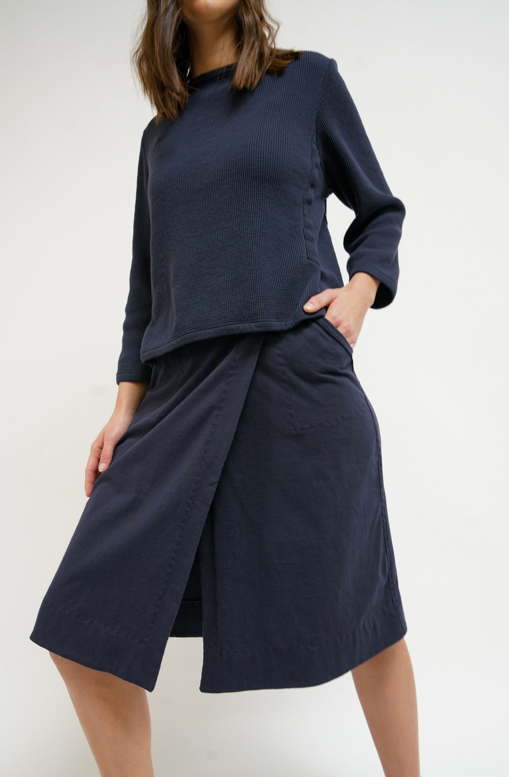 Alabama chanin everyday wrap skirt1