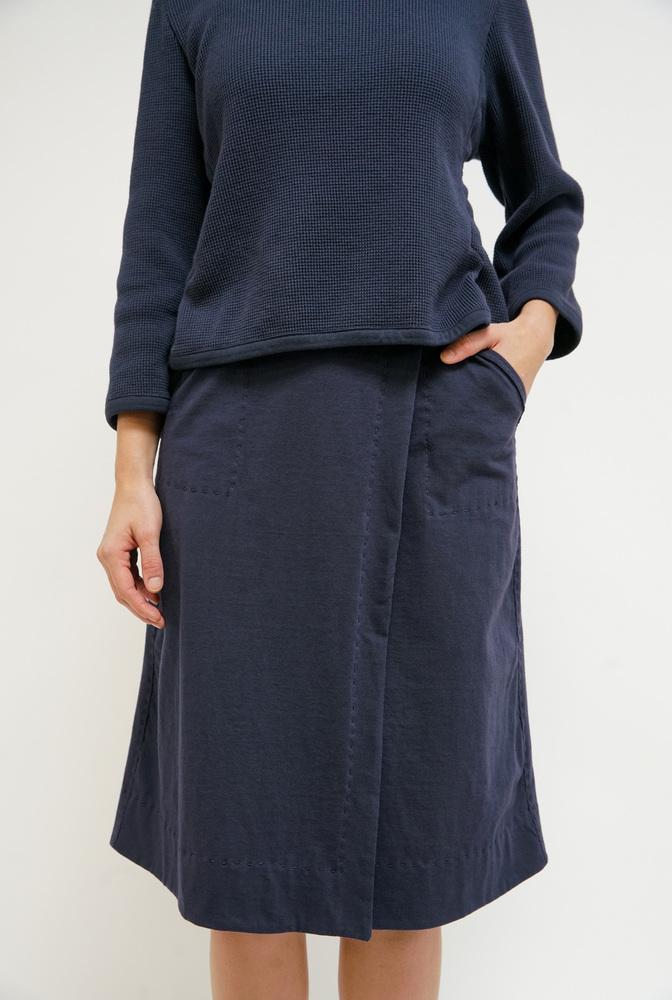 Alabama chanin everyday wrap skirt2