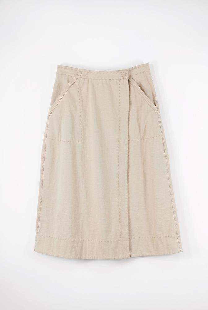 Alabama chanin everyday wrap skirt