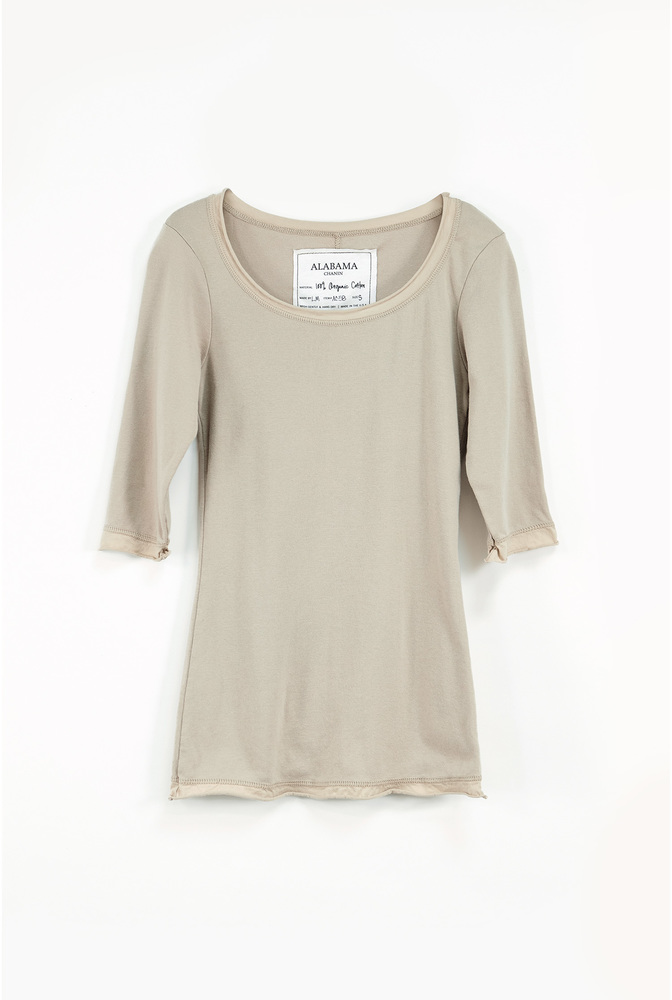 Alabama chanin essential rib scoop top