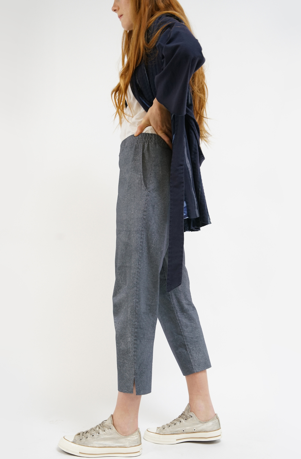 Alabama chanin essential crop pant2
