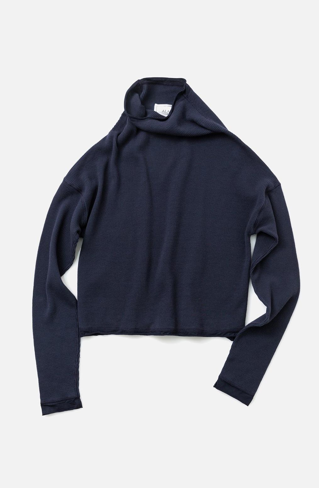 Alabama chanin waffle knit sweatshirt 2