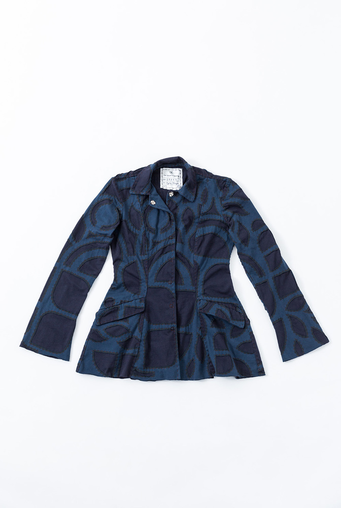 Ezra coat pattern   ezra jacket   abstract   peacock navy   a 870   29583   january 2020   abraham rowe1