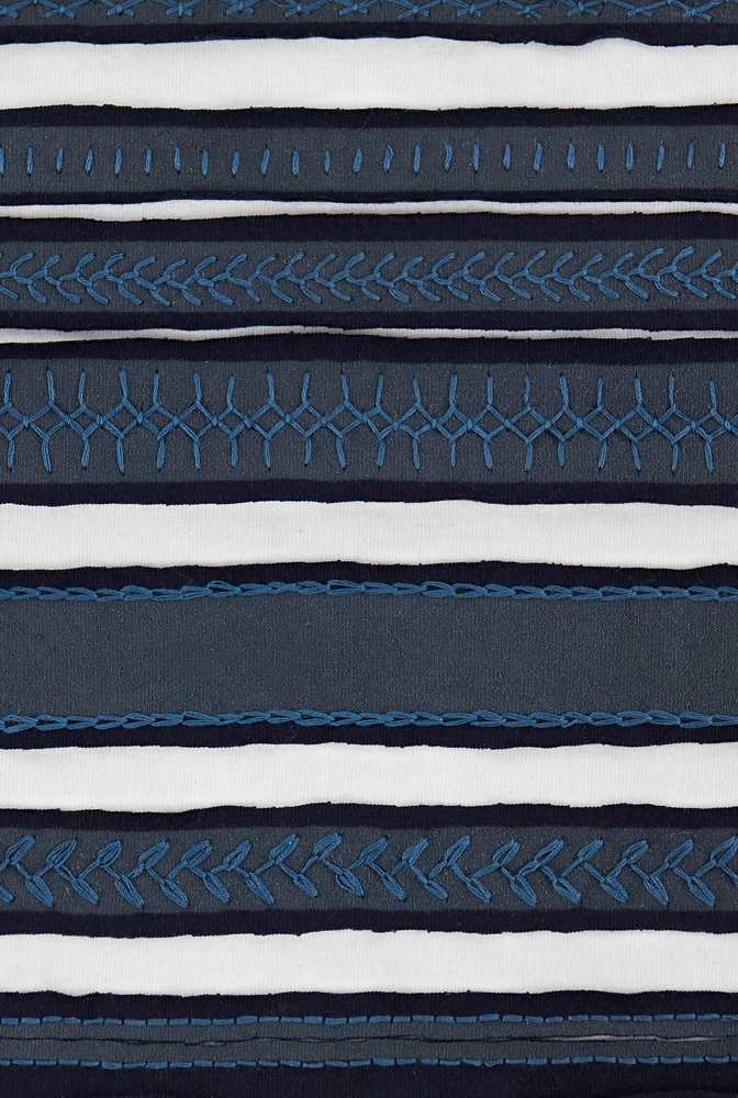 Fabric swatch   variegated stripe   assorted   navy white   29407   december 2019   robert rausch   2