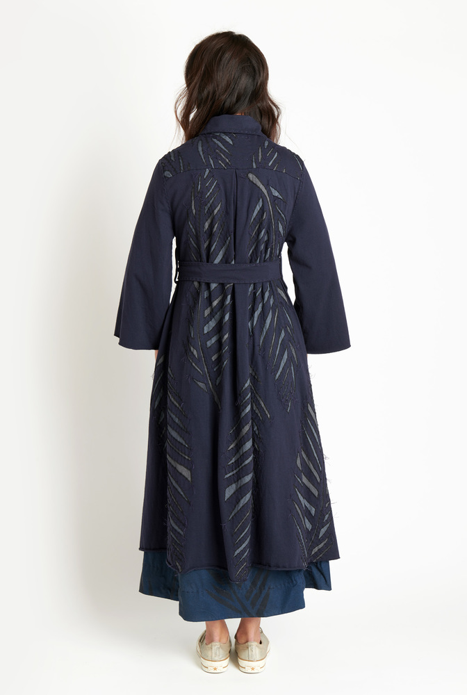 Alabama chanin palm polo coat3