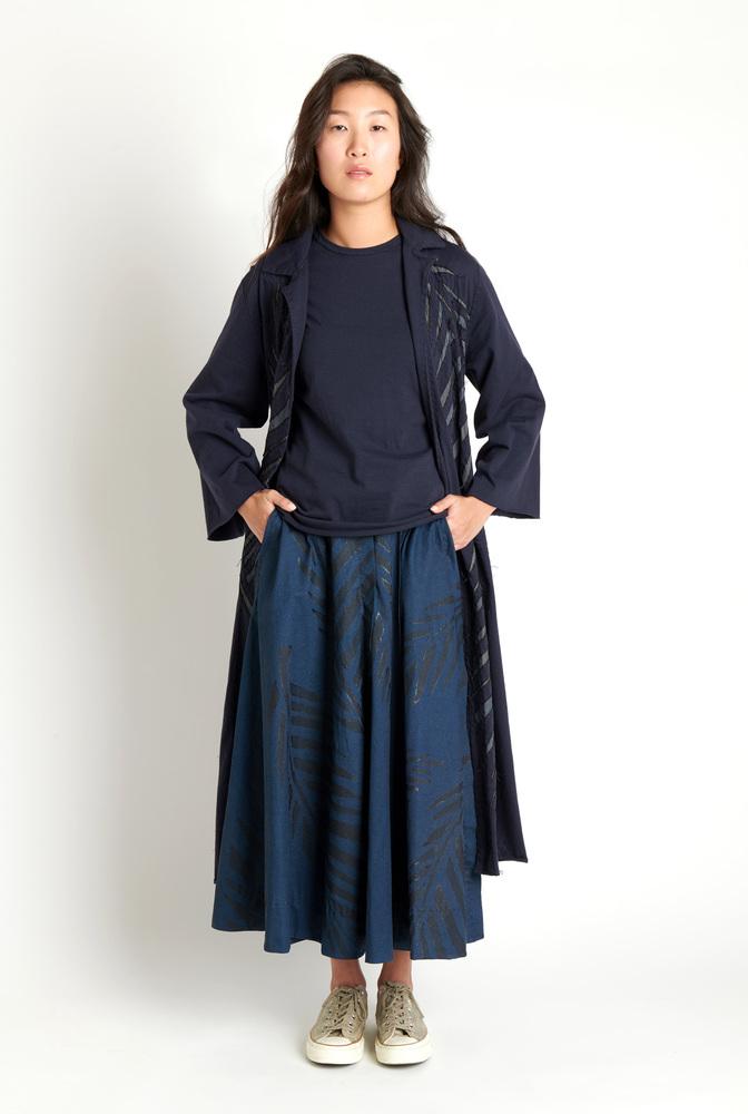 Alabama chanin leighton painted skirt 1