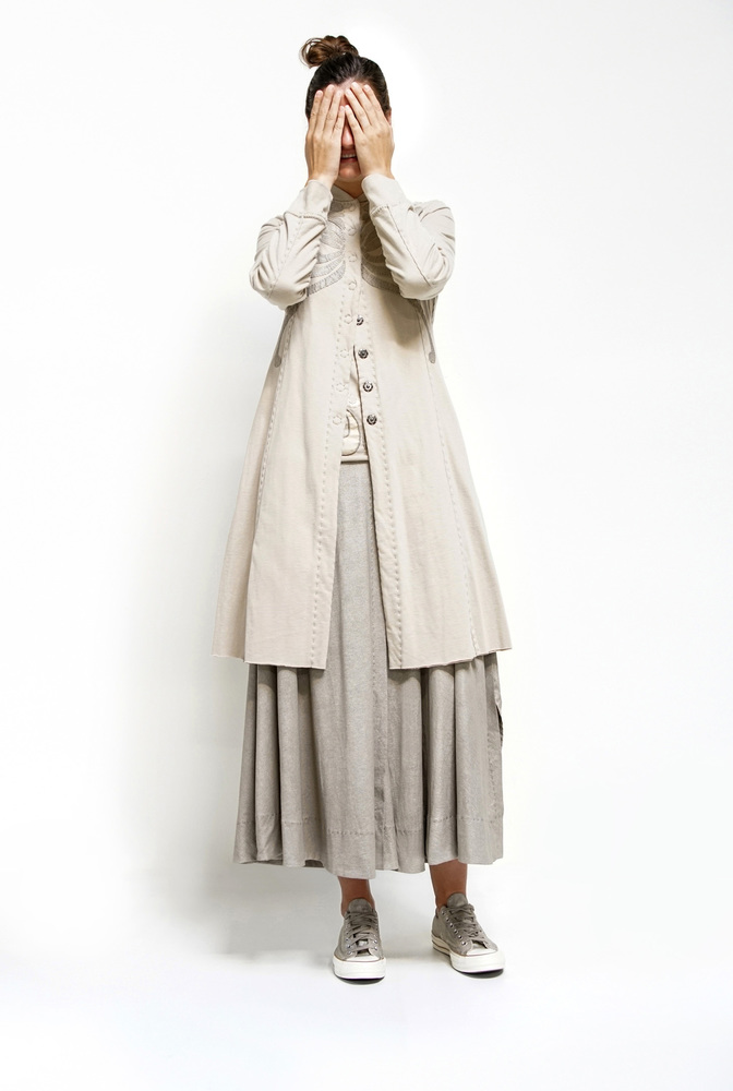 Alabama chanin leighton painted skirt 2
