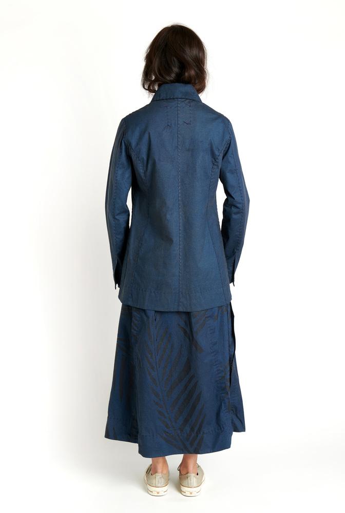 Alabama chanin leighton painted skirt 5