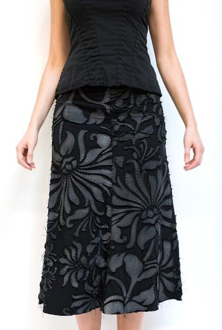The school of making diy magdalena mid length skirt kit 4
