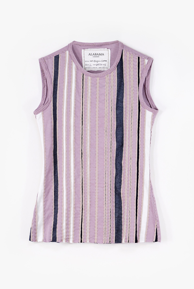 Alabama chanin virginia stripe top2