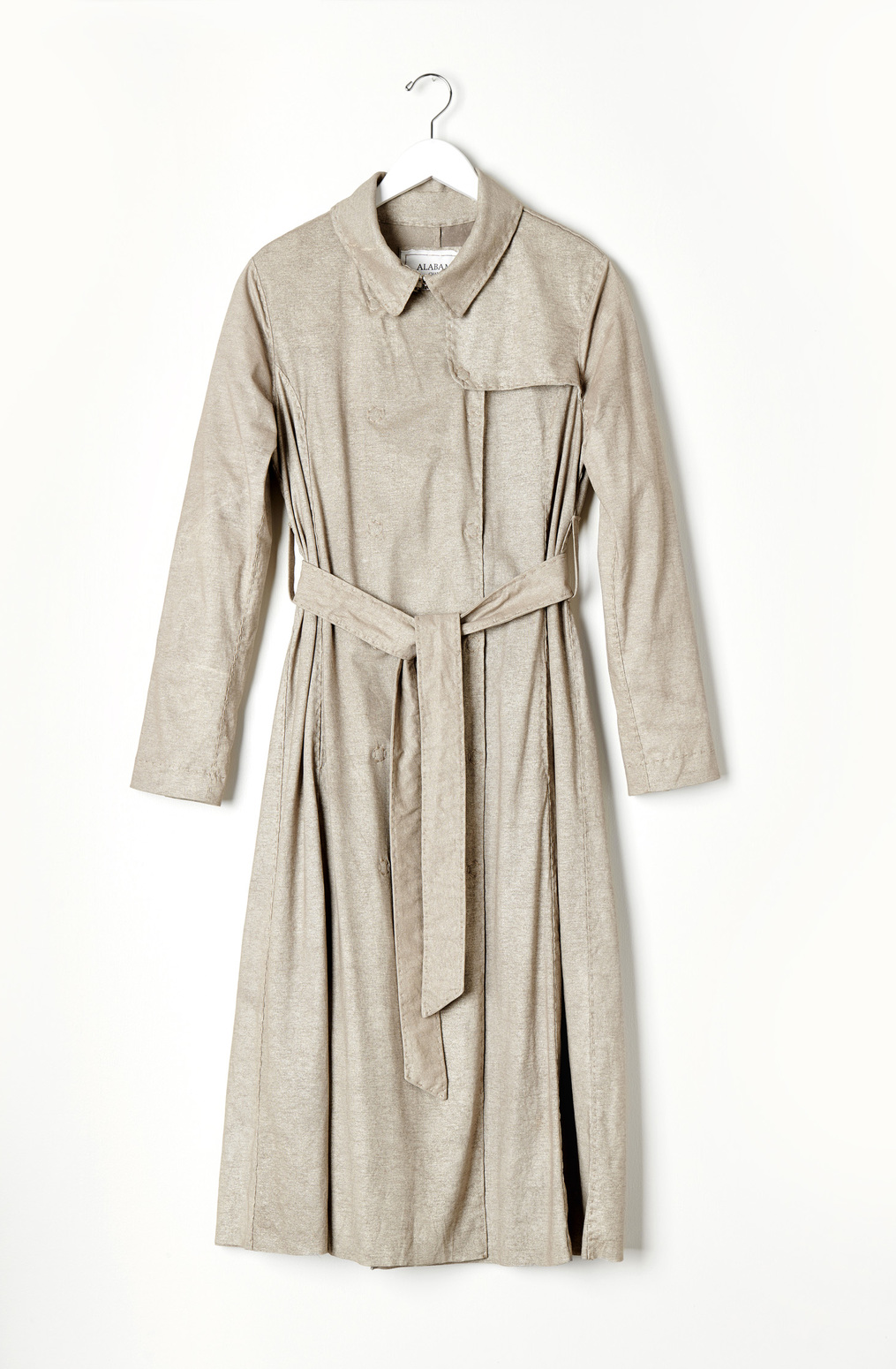 Alabama chanin the classic trench coat 3
