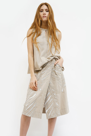 The Wrap Palm Skirt