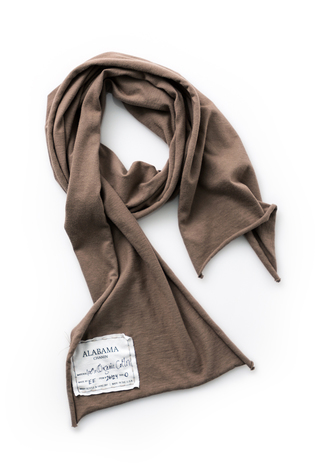 Alabama chanin organic cotton slim scarf 2