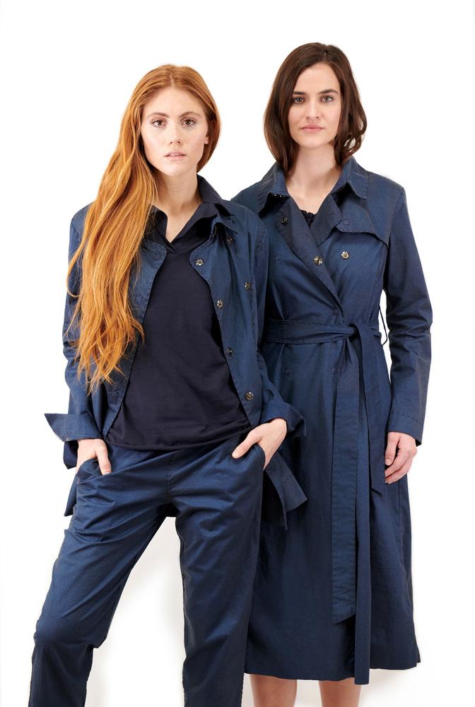 Alabama chanin the classic trench coat