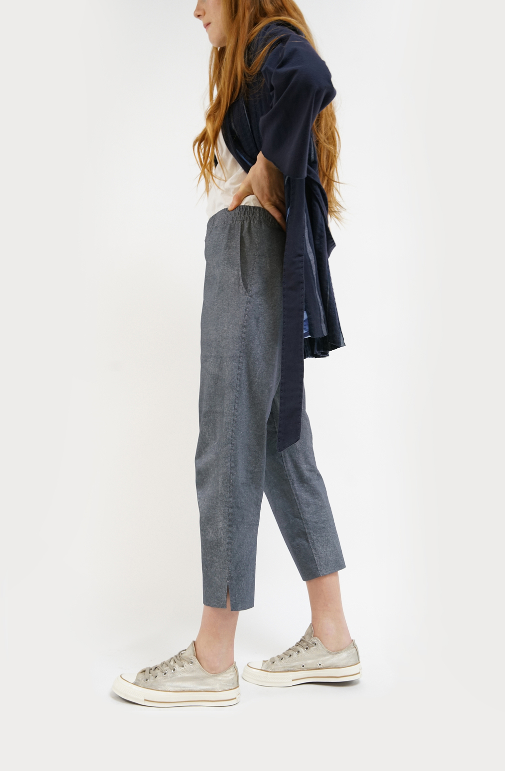 Alabama chanin essential crop pant5
