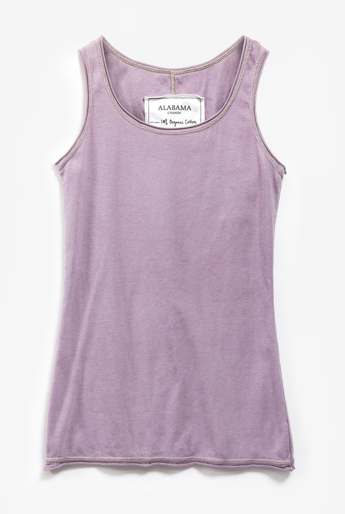 Alabama chanin leisure plush tank 1