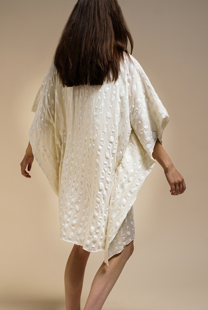 Alabama chanin flowy caftan tunic 2