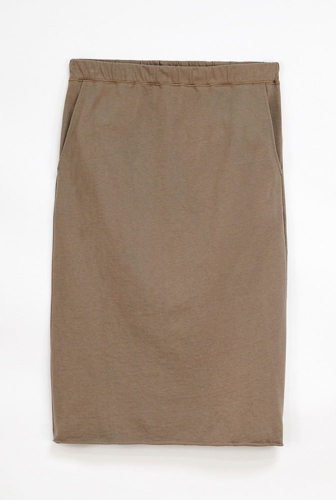 Alabama chanin cozy jogger skirt 1