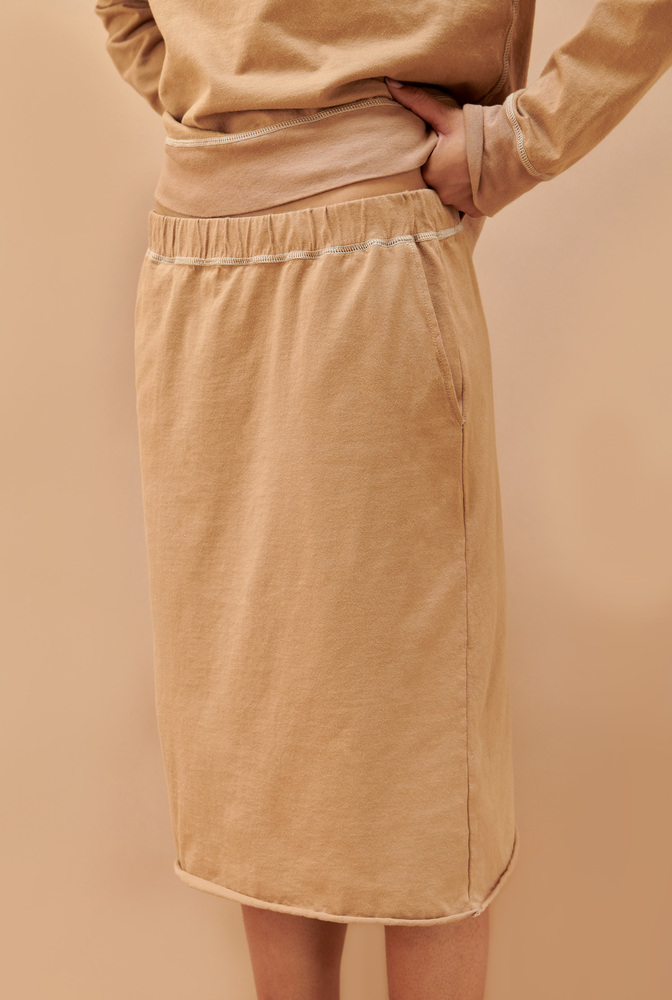 Alabama chanin cozy jogger skirt 3