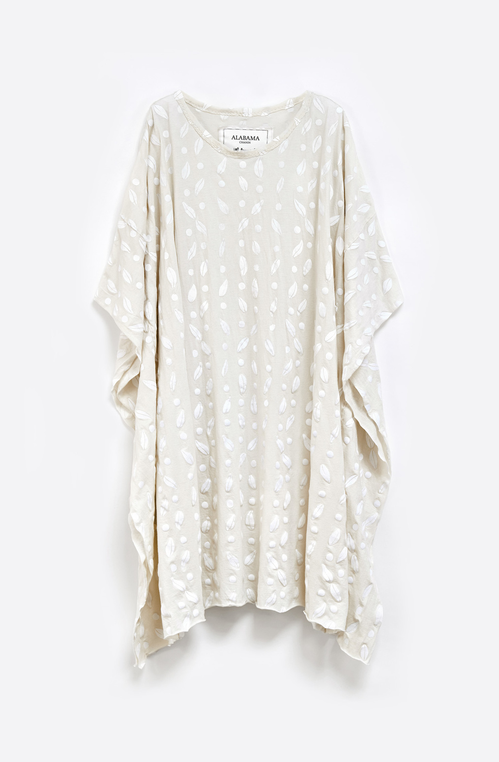 Alabama chanin flowy caftan dress 5