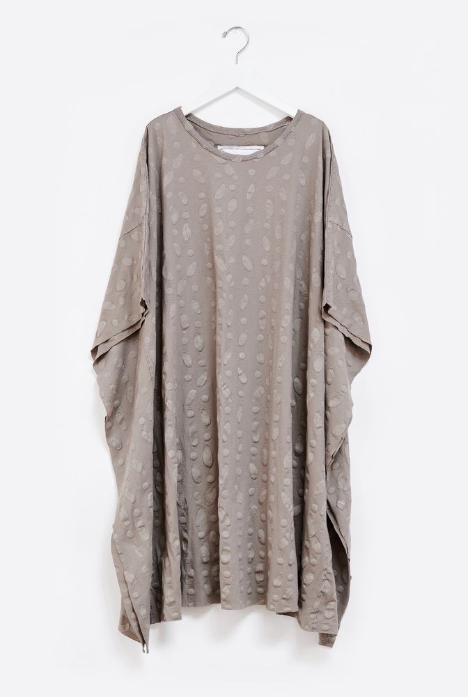 Alabama chanin flowy caftan dress 4