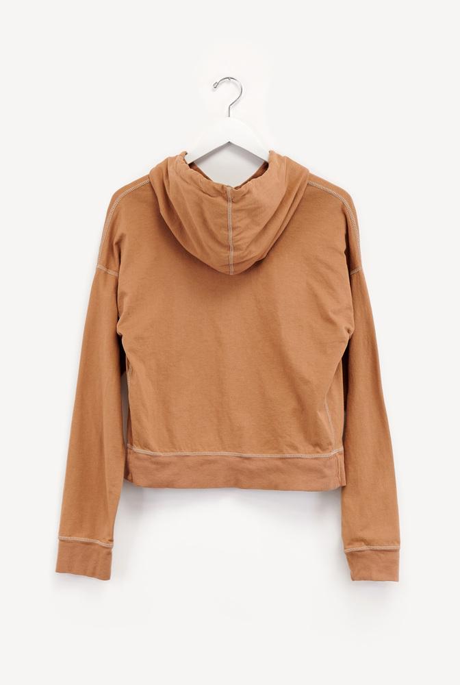 Alabama chanin cozy hoodie jacket 2