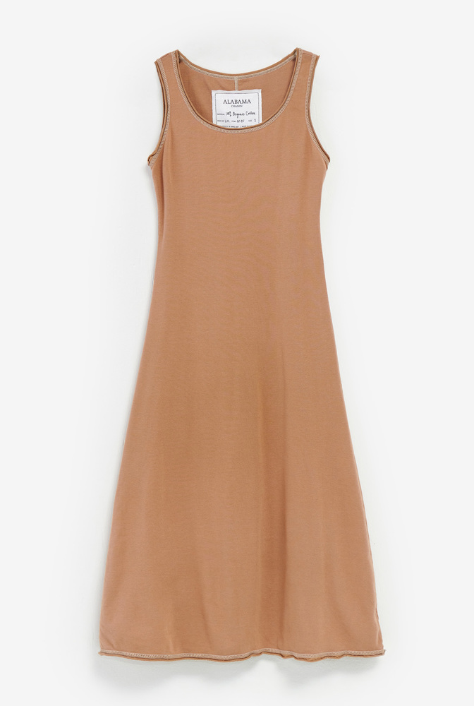 Alabama chanin leisure slip dress 1