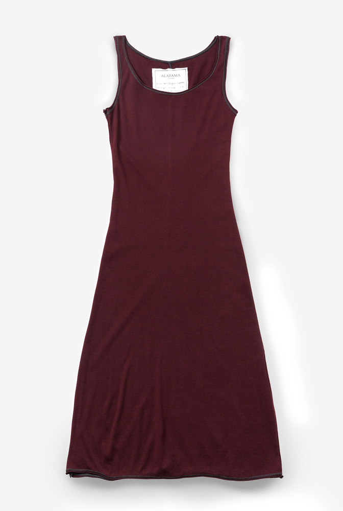 Alabama chanin leisure slip dress 3