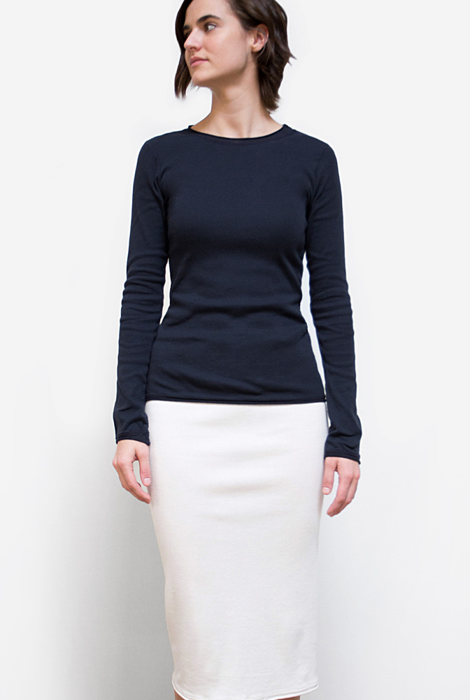 Alabama chanin rib pencil skirt 2