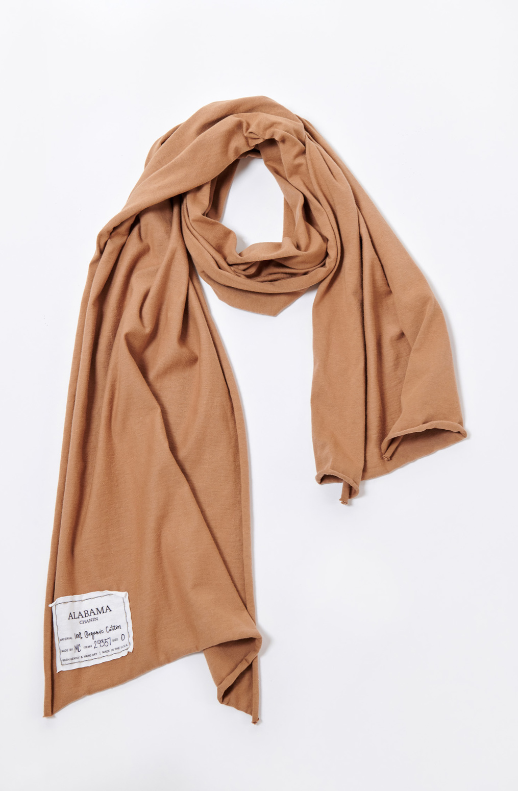 Alabama chanin organic cotton scarf 1
