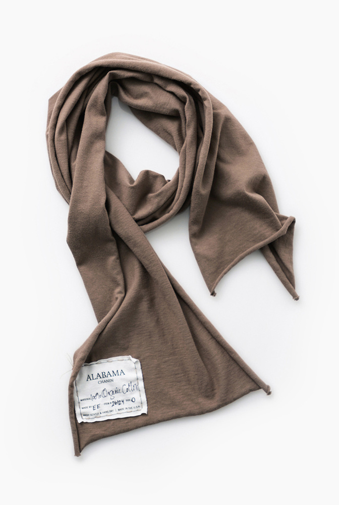 Alabama chanin organic cotton scarf 4