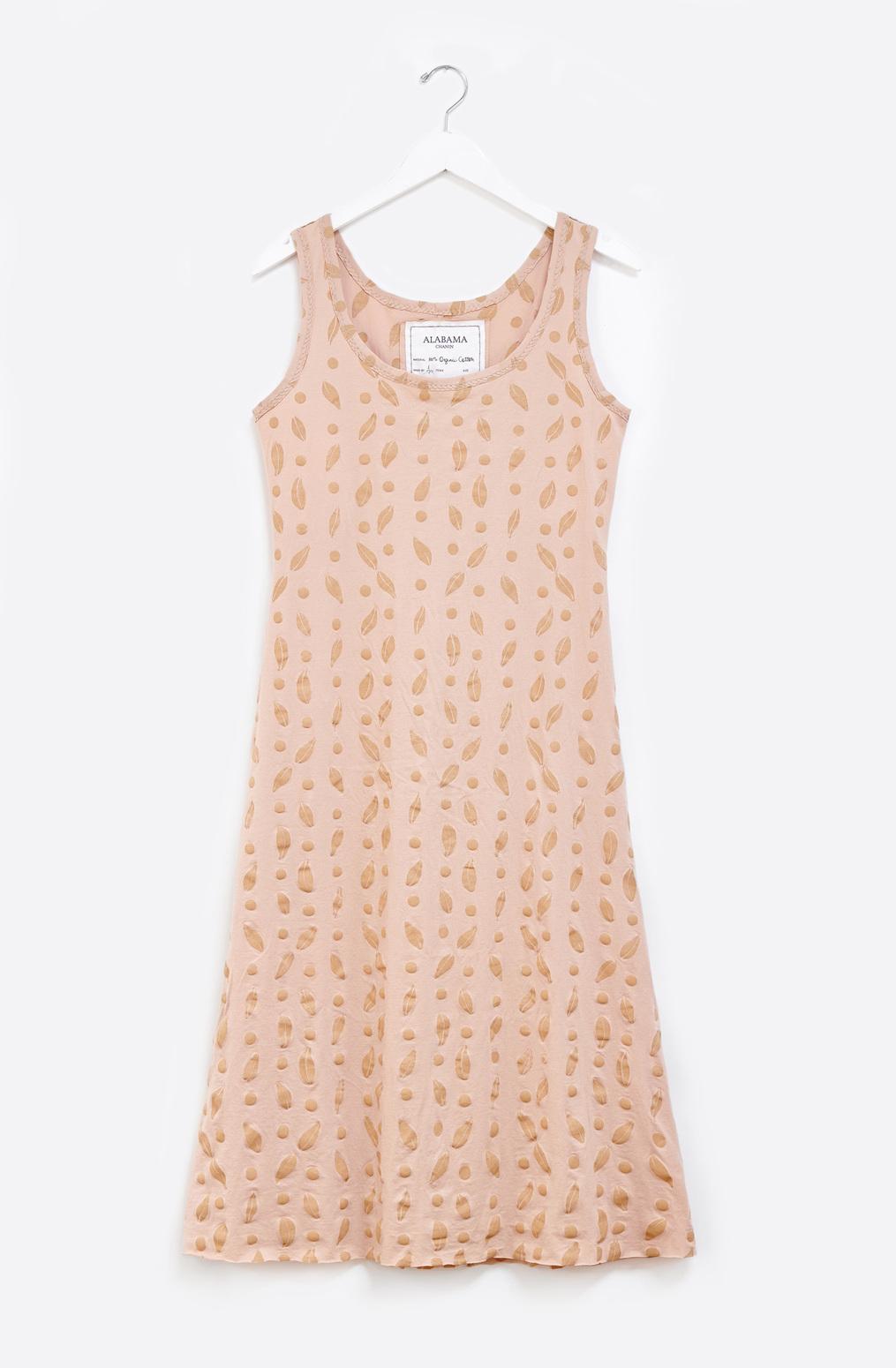 Alabama chanin hand sewn camisole dress 5