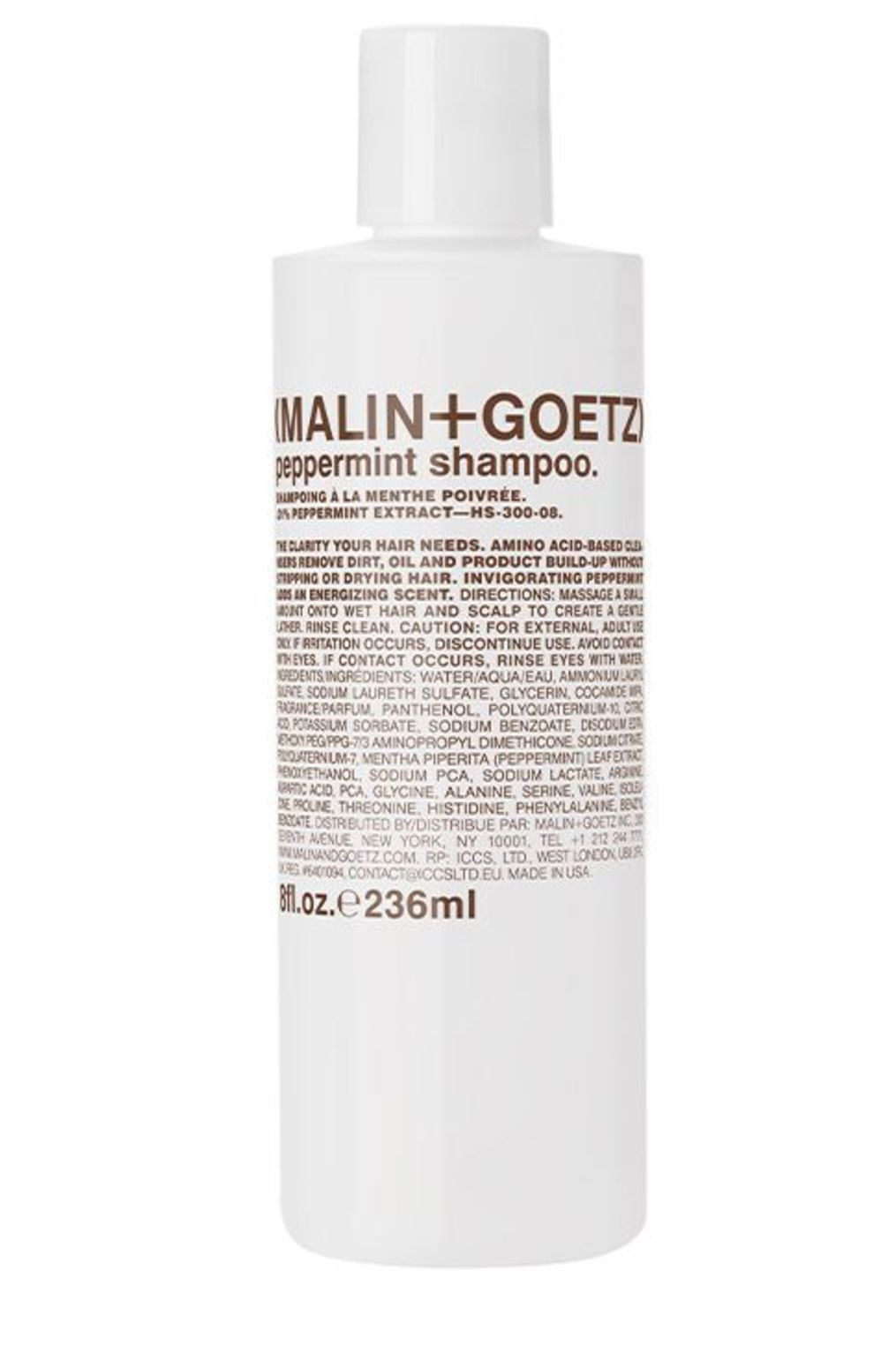 Hair peppermint shampoo 8oz 1
