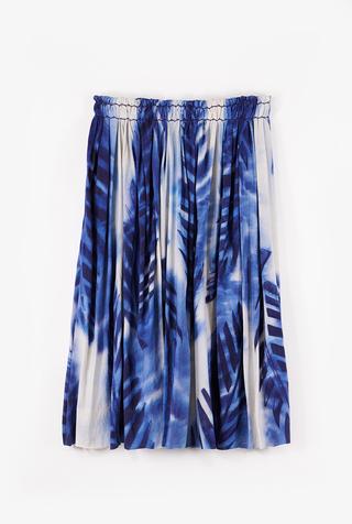 Celia Palm Skirt