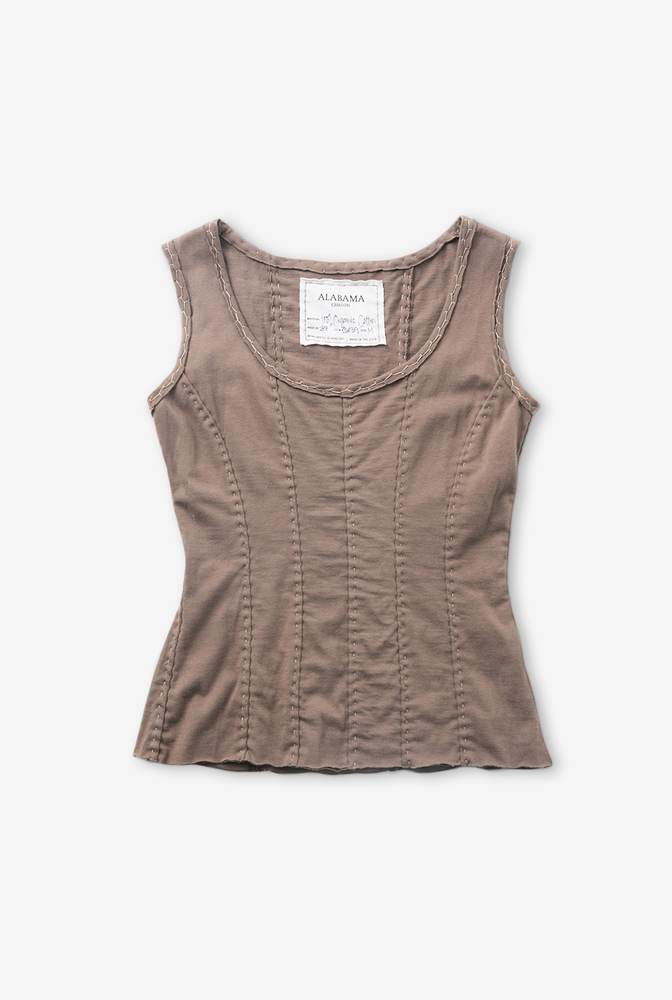Alabama chanin womens corset top 4