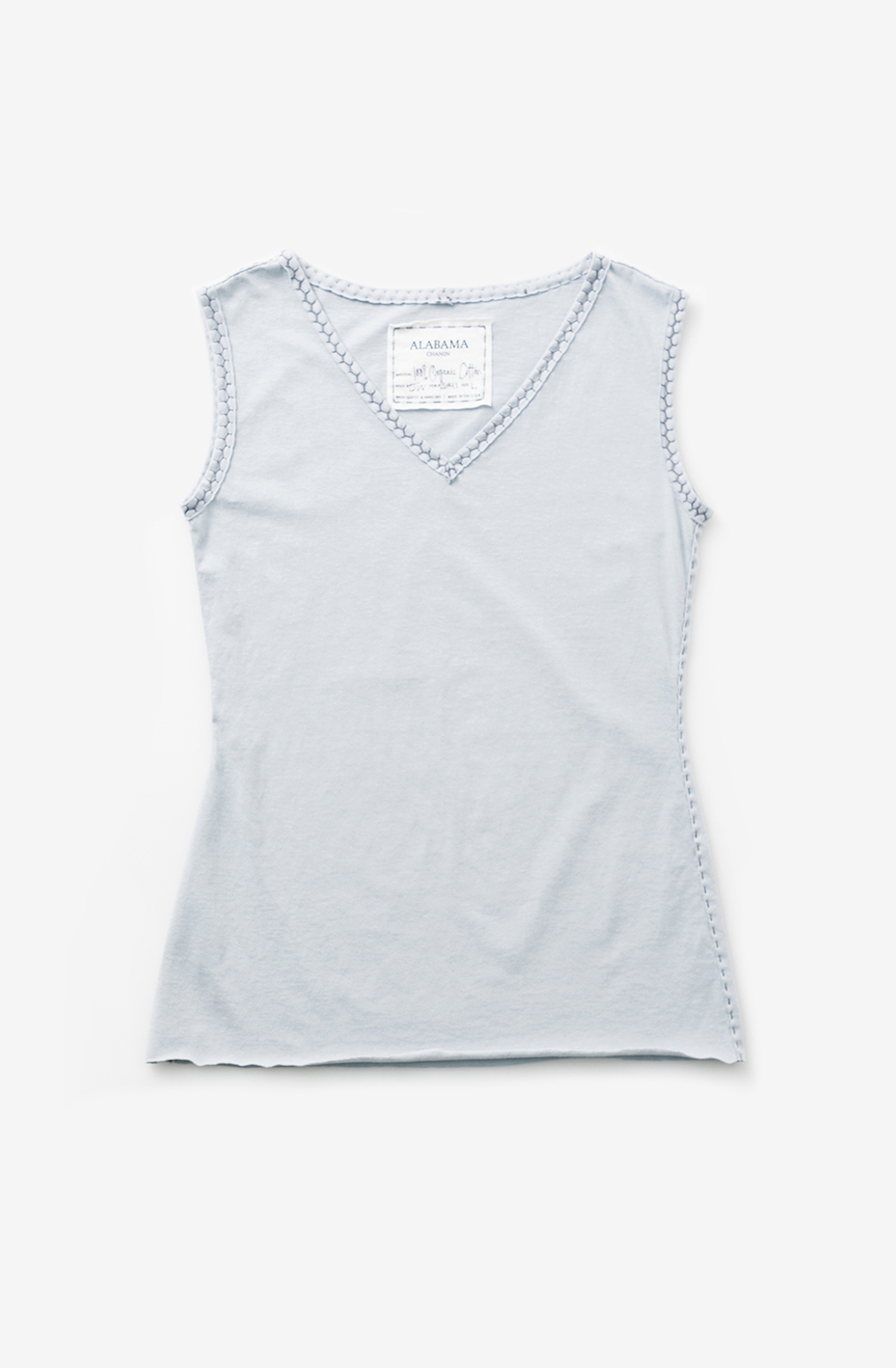 Alabama chanin womens sleeveless cotton top 1