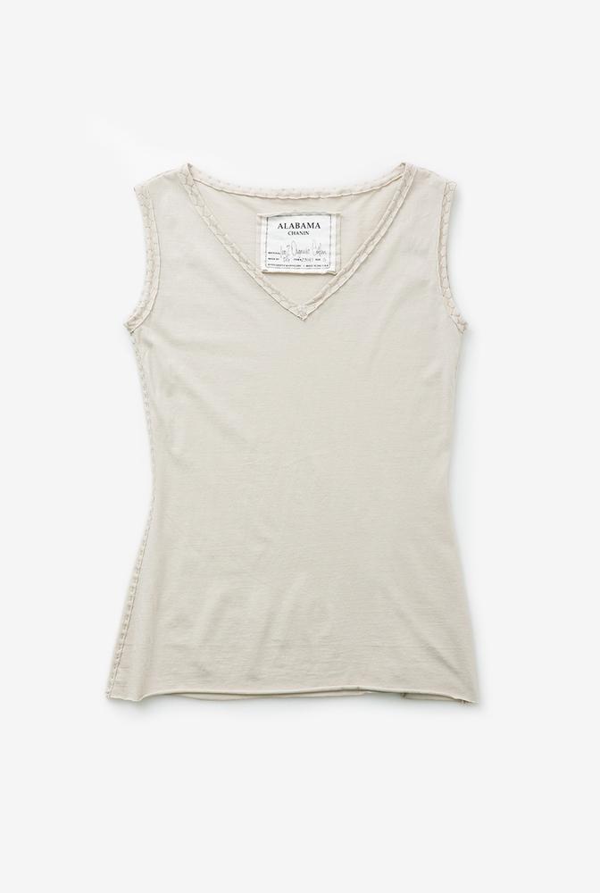 Alabama chanin womens sleeveless cotton top 3